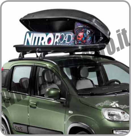 Kit nitro panda for 2 box auto con kit di appartamenti