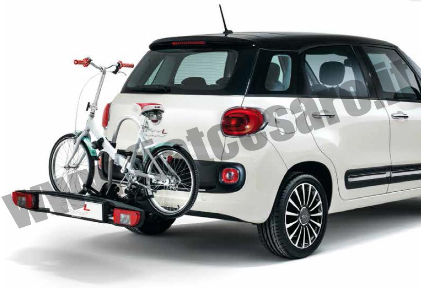 Bike Rack For Jeep Renegade >> PORTABICI SU GANCIO TRAINO